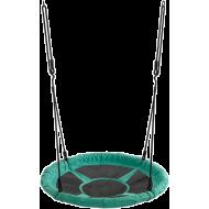 Huśtawka ogrodowa dla dzieci Spartan Sport bocianie gniazdo | zielona,producent: SPARTAN SPORT, zdjecie photo: 2