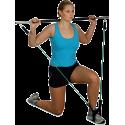 Gryf fitness z ekspanderem Clip-Tube Bodylastics Workout-Stick | długość 120cm Bodylastics - 15 | klubfitness.pl