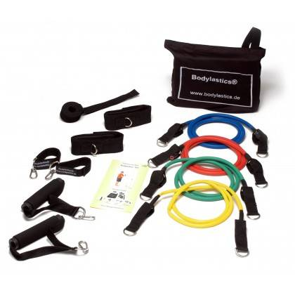 Zestaw ekspanderów gumowych z uchwytami Bodylastics BL-1000 | opór Level 1-4,producent: Bodylastics, zdjecie photo: 1