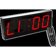 Cyfrowy zegar z 4-cyfrowym wyświetlaczem | aluminiowa obudowa,producent: IFS, zdjecie photo: 1
