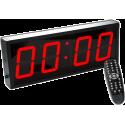 Cyfrowy zegar z 4-cyfrowym wyświetlaczem | aluminiowa obudowa IRONSPORTS - 2 | klubfitness.pl