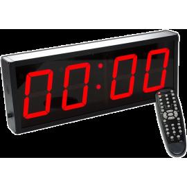Cyfrowy zegar z 4-cyfrowym wyświetlaczem | aluminiowa obudowa,producent: IRONSPORTS, zdjecie photo: 1 | online shop klubfitness.