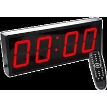 Cyfrowy zegar z 4-cyfrowym wyświetlaczem   aluminiowa obudowa,producent: IRONSPORTS, zdjecie photo: 1   online shop klubfitness.