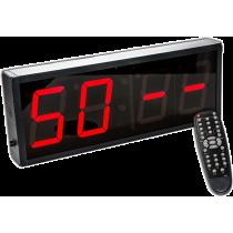 Cyfrowy zegar z 4-cyfrowym wyświetlaczem | aluminiowa obudowa,producent: IFS, zdjecie photo: 3