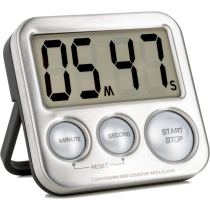 Cyfrowy zegar treningowy z wyświetlaczem Timer-XS IRONSPORTS - 1   klubfitness.pl