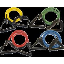 Ekspander gumowy do ćwiczeń z uchwytami Bodylastics Fitness Tube TU-P,producent: Bodylastics, zdjecie photo: 1