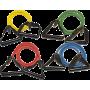 Ekspander gumowy do ćwiczeń z uchwytami Bodylastics Fitness Tube TU-P,producent: Bodylastics, zdjecie photo: 1 | online shop klu