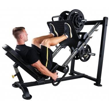 Suwnica na mięśnie nóg wypychanie Powertec P-LP14   Leg Press & Calf Raise,producent: Powertec, zdjecie photo: 4