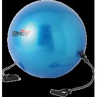 Piłka gimnastyczna z ekspanderami Stayer Sport | średnica 55cm | niebieska,producent: Stayer Sport, zdjecie photo: 1 | online sh