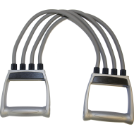 Ekspander gumowy regulowany Spartan Sport | 4 gumy,producent: SPARTAN SPORT, zdjecie photo: 1
