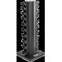 Stojak kolumnowy na hantle ATX R-3907 | na 10 par ATX - 4 | klubfitness.pl | sprzęt sportowy sport equipment