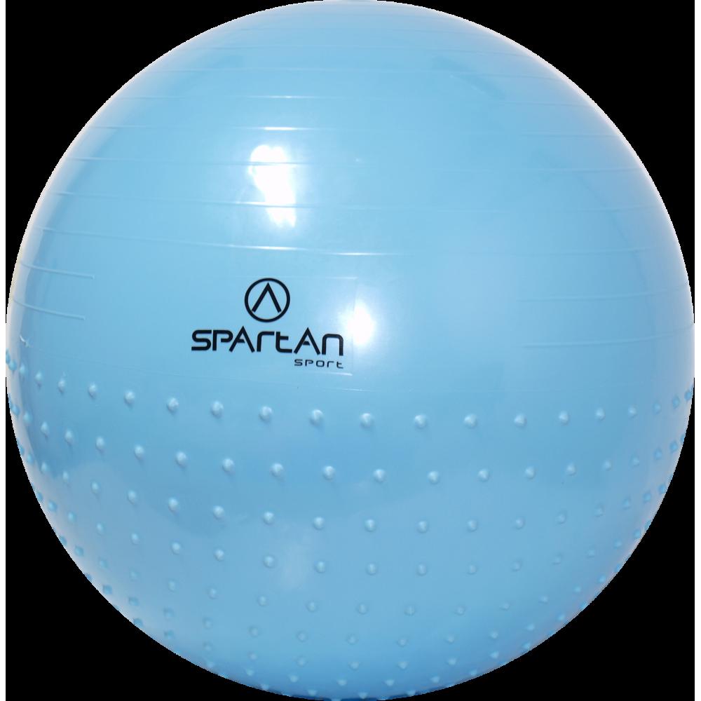 Piłka gimnastyczna Spartan Sport 65cm | Half Massage,producent: SPARTAN SPORT, zdjecie photo: 1