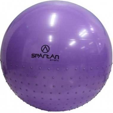 Piłka gimnastyczna Spartan Sport 75cm | Half Massage,producent: SPARTAN SPORT, zdjecie photo: 1