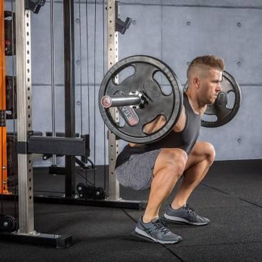 Klinowe bloki pod pięty MINI-SQB | przysiady | trening mięśni łydki,producent: IFS, zdjecie photo: 8