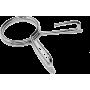 Zacisk sprężynowy prosty Stayer Sport 50mm | na gryf olimpijski Stayer Sport - 1 | klubfitness.pl | sprzęt sportowy sport equipm