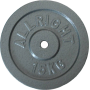 Obciążenie żeliwne hammertone Allright 15kg | 28mm ALLRIGHT - 1 | klubfitness.pl