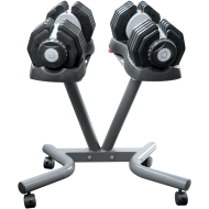 Hantle regulowane EZDUMBBELLS EZ025SET | 2x25kg za stojakiem,producent: Body Trading, zdjecie photo: 4