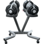 Hantle regulowane EZDUMBBELLS EZ025SET | 2x25kg ze stojakiem,producent: Body Trading, zdjecie photo: 3 | online shop klubfitness