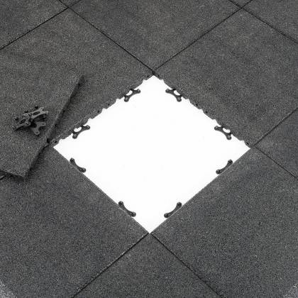 Podłoga gumowa modułowa Gymfloor® FS-BSF-MODELL-D | grubość 30mm,producent: Gym-Floor, zdjecie photo: 3