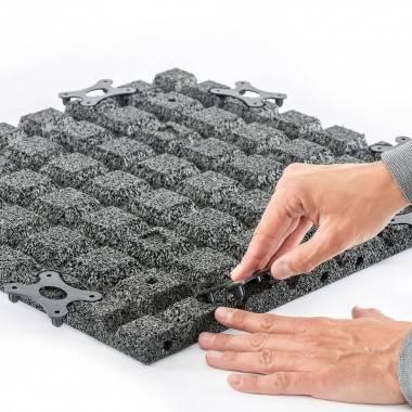 Podłoga gumowa modułowa Gymfloor® FS-BSF-MODELL-D | grubość 30mm,producent: Gym-Floor, zdjecie photo: 4
