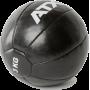 Piłka lekarska ATX® MB-PU-BL Classic | skóra syntetyczna PU | czarna ATX® - 4 | klubfitness.pl