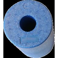Roller wałek do masażu BodyLastics Ø15x32cm | EPP | niebieski,producent: Bodylastics, zdjecie photo: 2