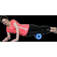 Roller wałek do masażu BodyLastics Ø15x32cm | EPP | niebieski,producent: Bodylastics, zdjecie photo: 3