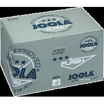 Piłeczki do tenisa stołowego Joola Flash *** białe | 72szt ITTF APPROVED Joola - 2 | klubfitness.pl | sprzęt sportowy sport equi