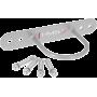 Uchwyt pojedyńczy do lin pasów ekspanderów HMS UWZ | z kotwami,producent: HMS, zdjecie photo: 2 | klubfitness.pl | sprzęt sporto