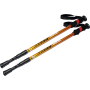 Kije trekkingowe carbon-aluminium Spartan Sport Carbon | 3 sekcyjne | 65-135cm SPARTAN SPORT - 1 | klubfitness.pl | sprzęt sport