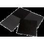 Mata amortyzująca puzzle EB Fit 60x60cm 10mm | 4 puzzle black EB FIT - 1 | klubfitness.pl | sprzęt sportowy sport equipment