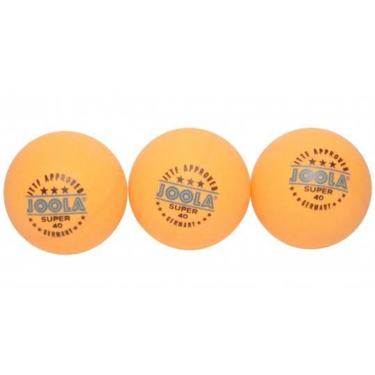 Piłeczki do tenisa stołowego Joola Super *** orange | 3szt ITTF approved,producent: Joola, zdjecie photo: 1