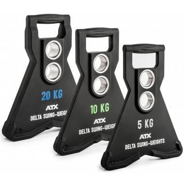 Obciążenie uretanowe olimpijskie ATX® Delta Swing | dynamiczne z 2 otworami,producent: ATX, zdjecie photo: 1