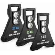 Obciążenie uretanowe olimpijskie ATX® Delta Swing | dynamiczne & wahliwe ATX® - 1 | klubfitness.pl