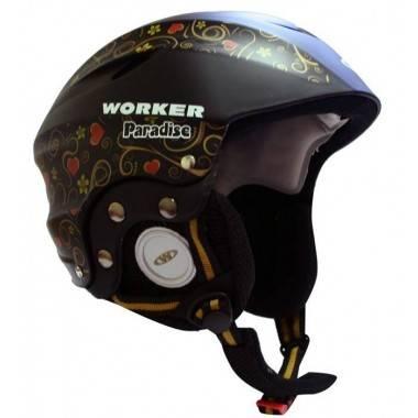 Kask narciarski snowboardowy WORKER PARADISE BLACK,producent: WORKER, photo: 1