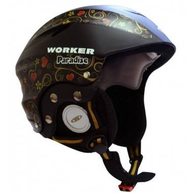 Kask narciarski snowboardowy WORKER PARADISE BLACK WORKER - 2