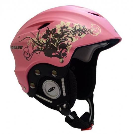 Kask narciarski snowboardowy WORKER PARADISE PINK,producent: WORKER, photo: 1