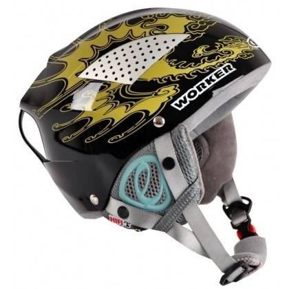 Kask narciarski snowboardowy WORKER SNOW HI-FI czarny ze słuchawkami,producent: WORKER, photo: 1
