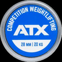 Gryf olimpijski prosty 220cm ATX® LH-50-ATX-CWL | Competition Weightlifting Bar ATX® - 6 | klubfitness.pl