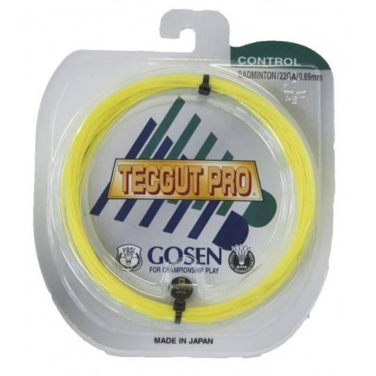 Naciąg do rakiet badmintona Gosen Tecgut Pro | 10m 0,69mm GOSEN - 1 | klubfitness.pl | sprzęt sportowy sport equipment