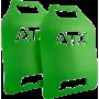 Płyty obciążeniowe do kamizelki taktycznej ATX® 2x 4,17LB | zielone ATX - 1 | klubfitness.pl | sprzęt sportowy sport equipment