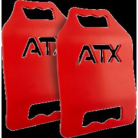 Płyty obciążeniowe do kamizelki taktycznej ATX® 2x 6,17LB | czerwone,producent: ATX, zdjecie photo: 1 | klubfitness.pl | sprzęt