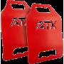 Płyty obciążeniowe do kamizelki taktycznej ATX® 2x 6,17LB | czerwone ATX® - 1 | klubfitness.pl