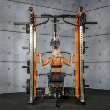 Brama z suwnicą Smith'a MegaTec® MT-SCR-SW | wyciąg ze stosem 125kg,producent: MegaTec, zdjecie photo: 25