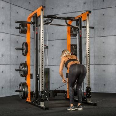 Brama z suwnicą Smith'a MegaTec® MT-SCR-SW | wyciąg ze stosem 125kg,producent: MegaTec, zdjecie photo: 38