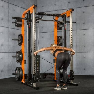 Brama z suwnicą Smith'a MegaTec® MT-SCR-SW | wyciąg ze stosem 125kg,producent: MegaTec, zdjecie photo: 39