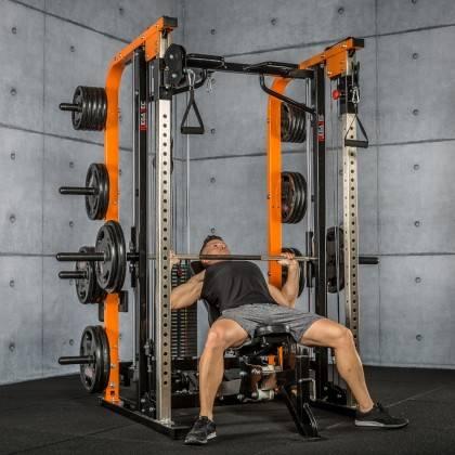 Brama z suwnicą Smith'a MegaTec® MT-SCR-SW | wyciąg ze stosem 125kg,producent: MegaTec, zdjecie photo: 62