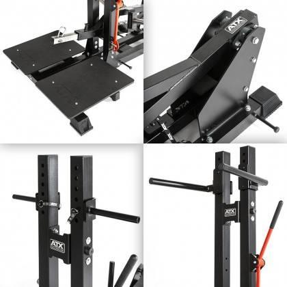 Stanowisko treningowe przysiady & dipping ATX® Belt Squat Machine,producent: ATX, zdjecie photo: 24 | klubfitness.pl | sprzęt sp