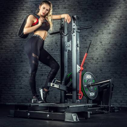 Stanowisko treningowe przysiady & dipping ATX® Belt Squat Machine,producent: ATX, zdjecie photo: 3 | klubfitness.pl | sprzęt spo