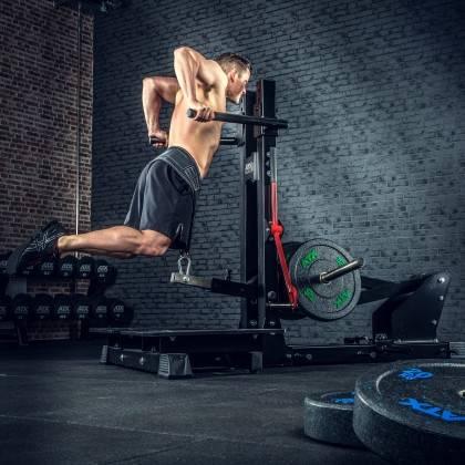 Stanowisko treningowe przysiady & dipping ATX® Belt Squat Machine,producent: ATX, zdjecie photo: 6 | klubfitness.pl | sprzęt spo